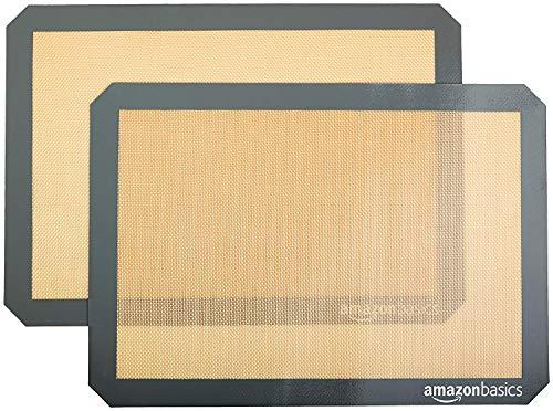 Amazon Basics Backmatte, Silikon, 2 Stück