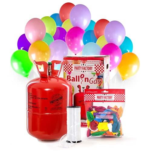 Juhlatila Ladenburgin heliumpullo, sisältää 50 ilmapalloa