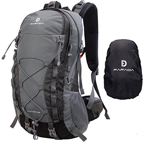 VENTCY 35L 40L Hiking Backpack Women Men Unisex Waterproof Backpack Trekking Backpack Daypack Travel Backpack Outdoor Backpack Trekking Camping (S-40l-gray)