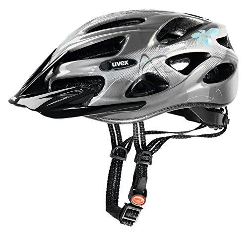 Uvex Damen Onyx Fahrradhelm, Black, 52-57 cm