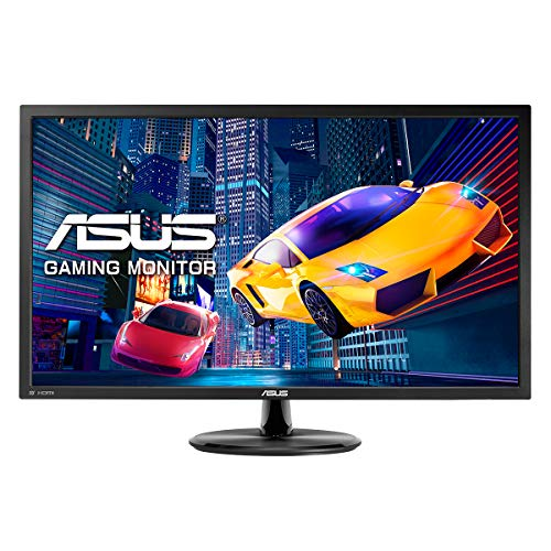 Asus VP28UQG 71,12 cm (28 Zoll) Monitor (HDMI, DisplayPort, 4K UHD Auflösung, 1ms Reaktionszeit) schwarz