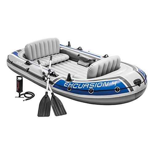 Intex Excursion 4 Set Inflatable - 315 x 165 x 43 cm - 3-parts - Gray / Blue