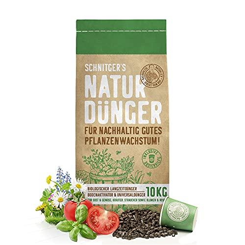 Naturdünger - Universal Pflanzendünger in Bio-Qualität - Langzeitdünger für nachhaltig gutes Pflanzenwachstum - mit Dosierhilfe - einfach & unbedenklich düngen...