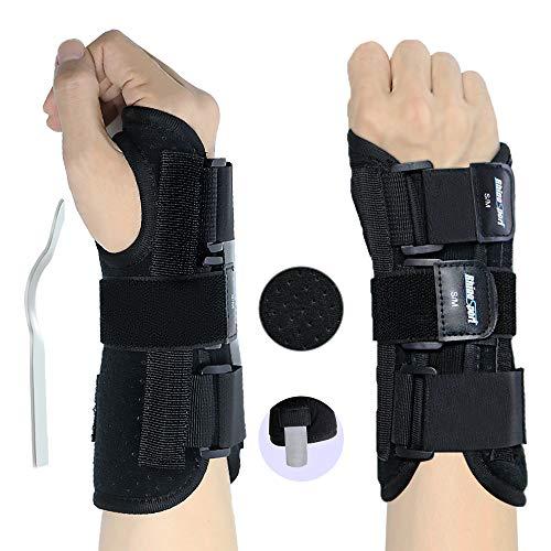 RHINOSPORT Handgelenkbandage Handgelenkstütze Handgelenkschiene, Schutzfunktion Schmerzlinderung und die Stabilität unterstützen, behilflich für Männer und...