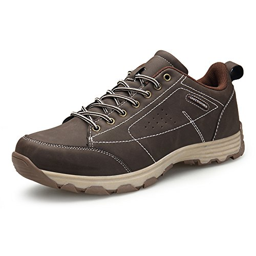 ZOEASHLEY, Unisex Adult Trekking & Hiking Boots, Brown - Brown - Size: 45 EU