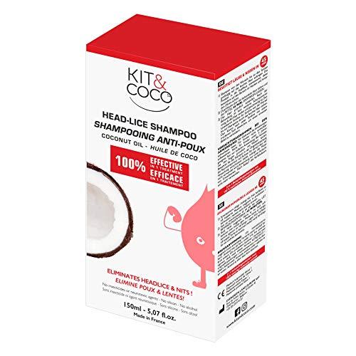 Super effektives Shampoo zur Behandlung von Kopfläusen und Nissen