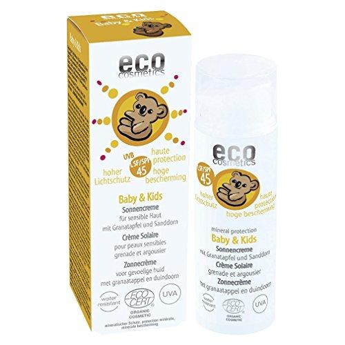 eco cosmetics Baby & Kids Sunscreen LSF45 50ml