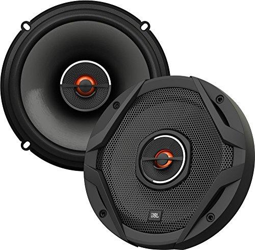 JBL Auto GX602 Lautsprecher 180-Watt 2-Wege HiFi 6 - 1/2'165 MM (1 Paar), schwarz