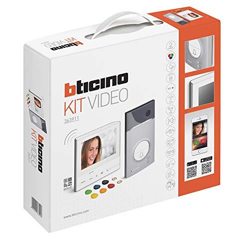 Legrand, Flex ONE 2-Draht Videosprechanlagen WLAN Set, Classe 300 X13E mit 7' Touchscreen, 105° Weitwinkel Kamera, Video Speicherung, Transponder...