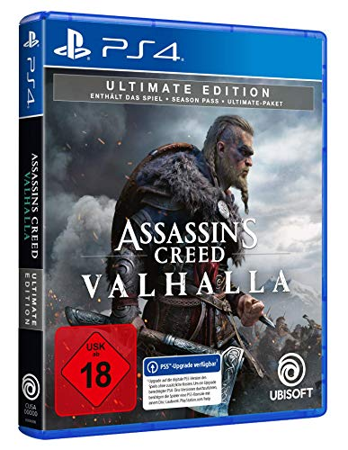 Assassin's Creed Valhalla - Ultimate Edition (kostenloses Upgrade auf PS5) [Playstation 4]