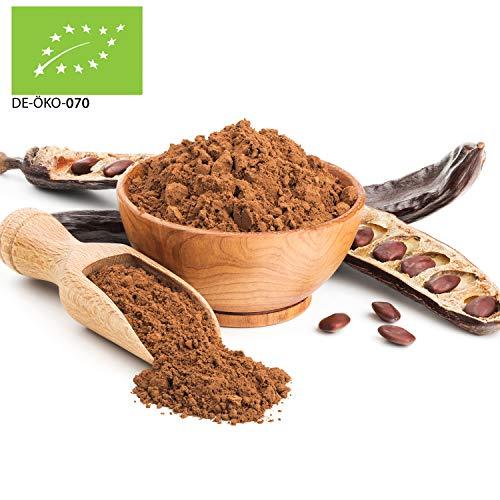 1000g Bio Carobpulver SUPERFOOD aus Italien | 1 kg | Johannisbrotbaum Pulver Kakao-Alternative 100% vegan und rein | ohne Zusätze 100% Naturprodukt Carob Pulver |...