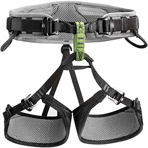 Petzl adult climbing harness Calidris, anthracite, 2nd