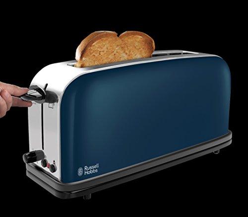 russell hobbs colours royal blue langschlitz toaster test. Black Bedroom Furniture Sets. Home Design Ideas