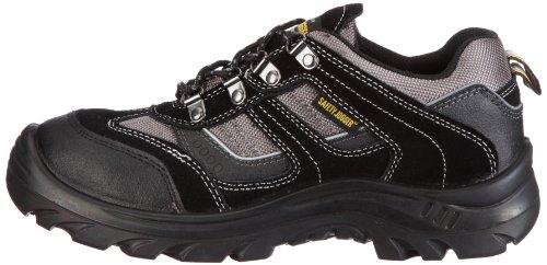 Safety Jogger JUMPER, Unisex - Erwachsene Arbeits & Sicherheitsschuhe S3, schwarz, (blk/blk/dgr 117), EU 424
