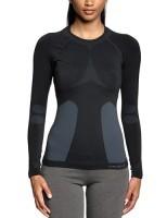 monia muodikkaita laatu tuoreita tyylejä Thermounterwäsche Odlo Damen Shirt Long Sleeve Crew Neck ...
