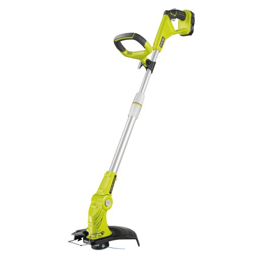 akku rasentrimmer ryobi rlt183113 18 v garten trimmer test. Black Bedroom Furniture Sets. Home Design Ideas