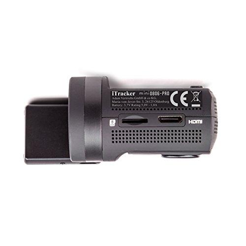 autokamera itracker mini0806 pro gps full hd dashcam 2x sd. Black Bedroom Furniture Sets. Home Design Ideas