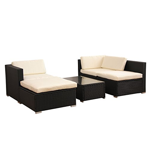 gartenlounge poly rattan lounge schwarz polyrattan vergleichssiegertestsieger vergleich und test. Black Bedroom Furniture Sets. Home Design Ideas