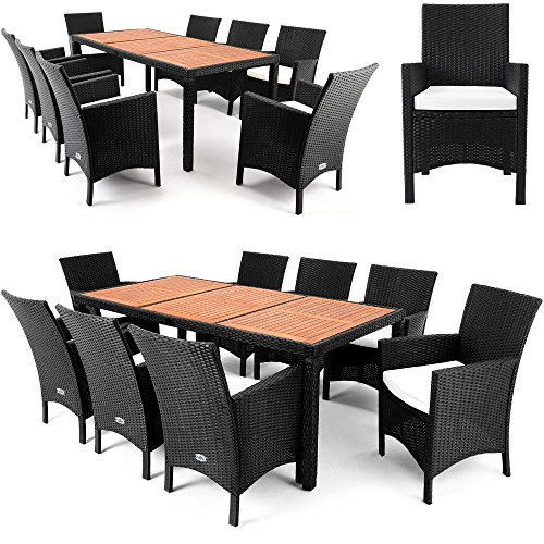 gartenm bel set polyrattan sitzgruppe vergleichssieger. Black Bedroom Furniture Sets. Home Design Ideas
