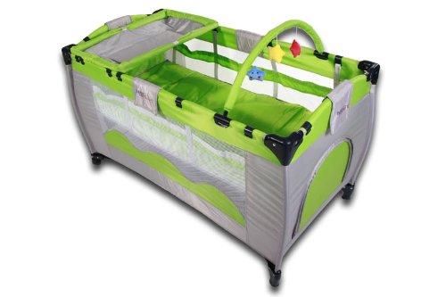 reisebett infantastic krb01gr n f r kinder babyreisebett test vergleich im juli 2018. Black Bedroom Furniture Sets. Home Design Ideas