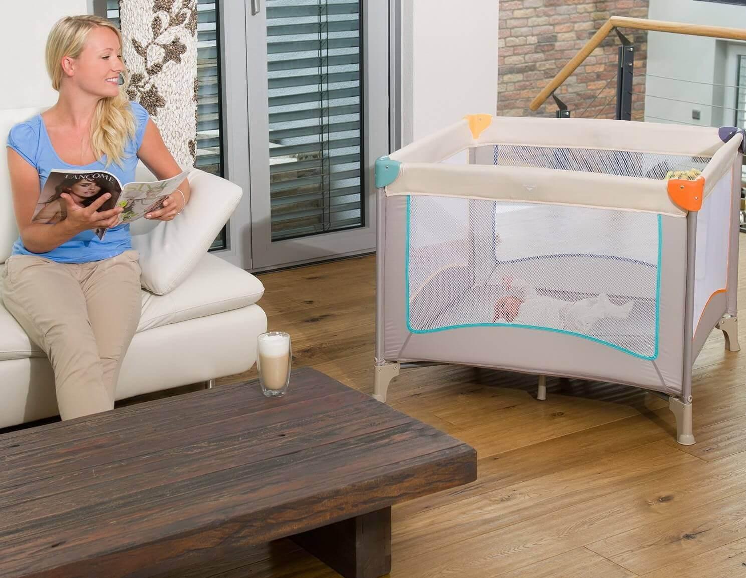 die besten reisebett 2018 im test vergleich babyreisebett kaufen im oktober 2018. Black Bedroom Furniture Sets. Home Design Ideas