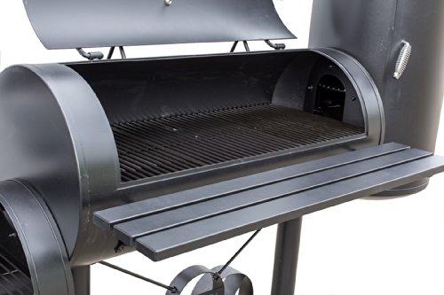 smoker grill tepro holzkohlengrill wichita schwarz vergleichssieger im juli 2018. Black Bedroom Furniture Sets. Home Design Ideas