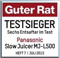 Entsafter Slow Juicer Testsieger : Panasonic Archive Test & vergleiche kaufe den TestsiegerTest & vergleiche kaufe den Testsieger