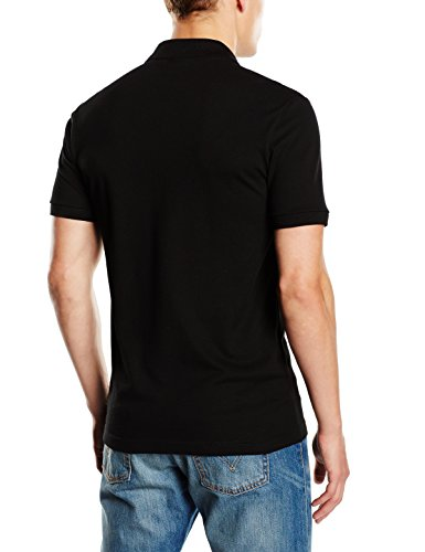 poloshirt slim fit lacoste herren polo shirt schwarz 70 sale im juni 2018. Black Bedroom Furniture Sets. Home Design Ideas