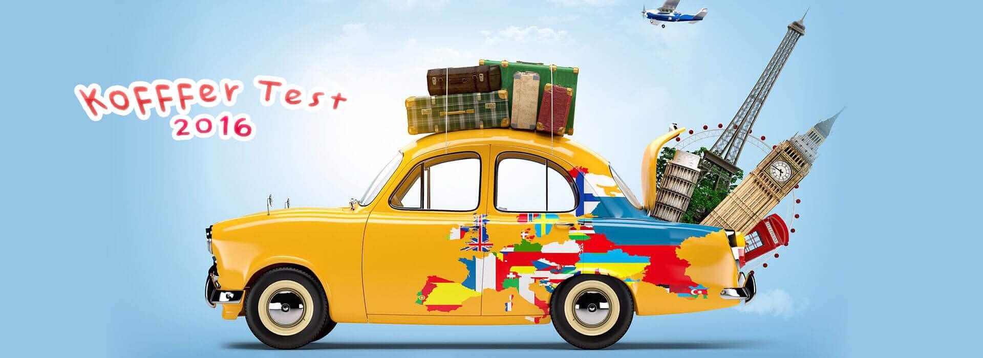 Die besten Koffer & Reisegepäck im Vergleichstest