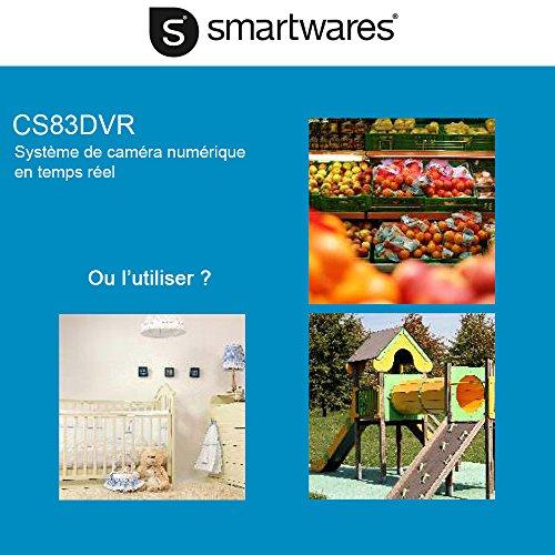berwachungskamera set smartwares funk kamerasystem vergleichssieger im juni 2018. Black Bedroom Furniture Sets. Home Design Ideas