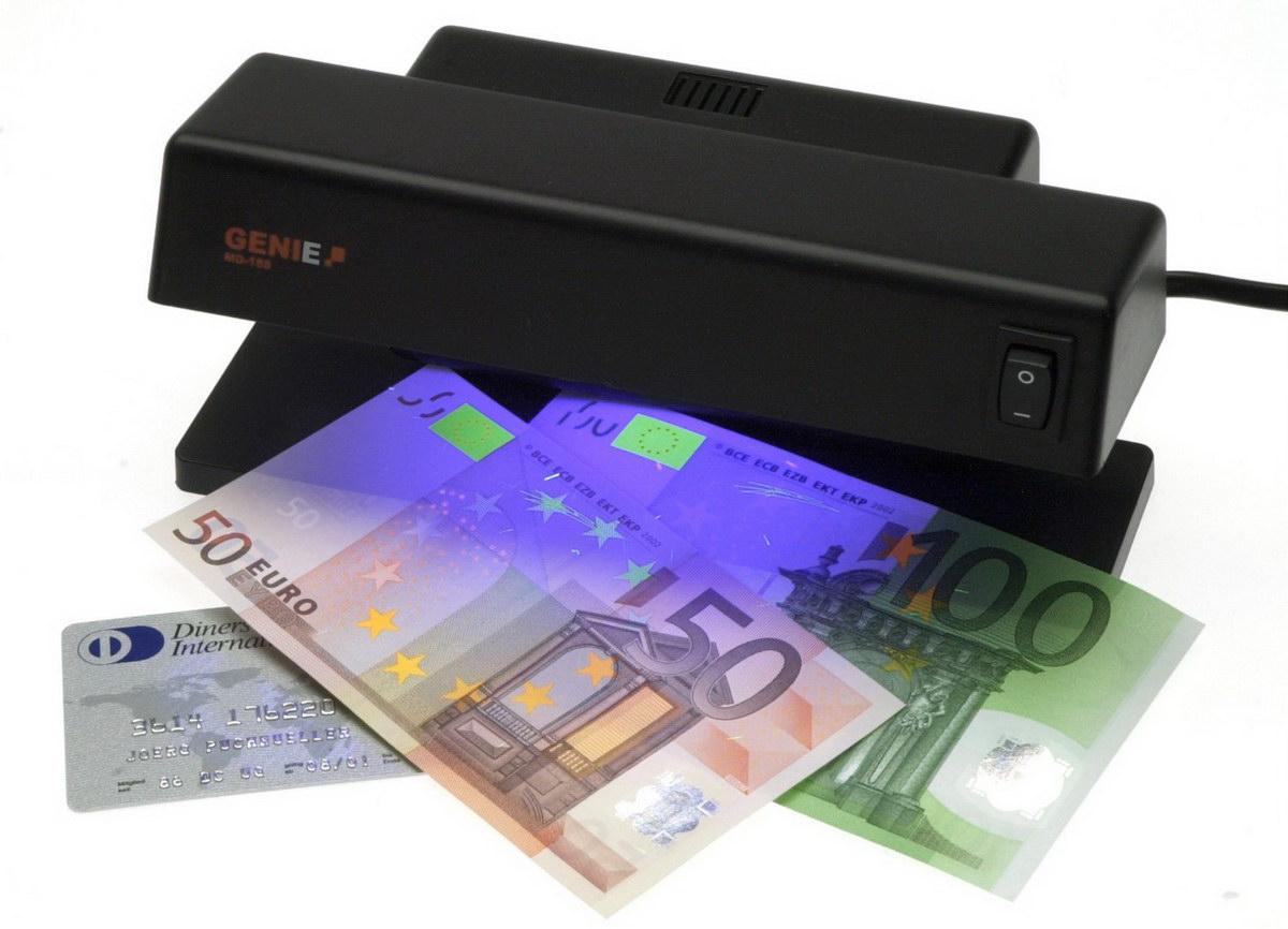 Geldscheinprüfer Geldprüfgerät Geldtester Geldprüfer Handgerät mit UV-Lampe