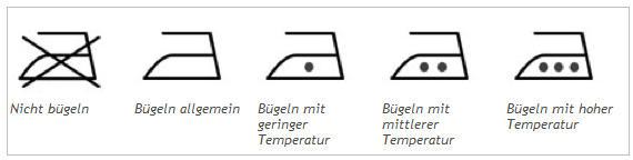 temperatur bügeleisen 1 punkt