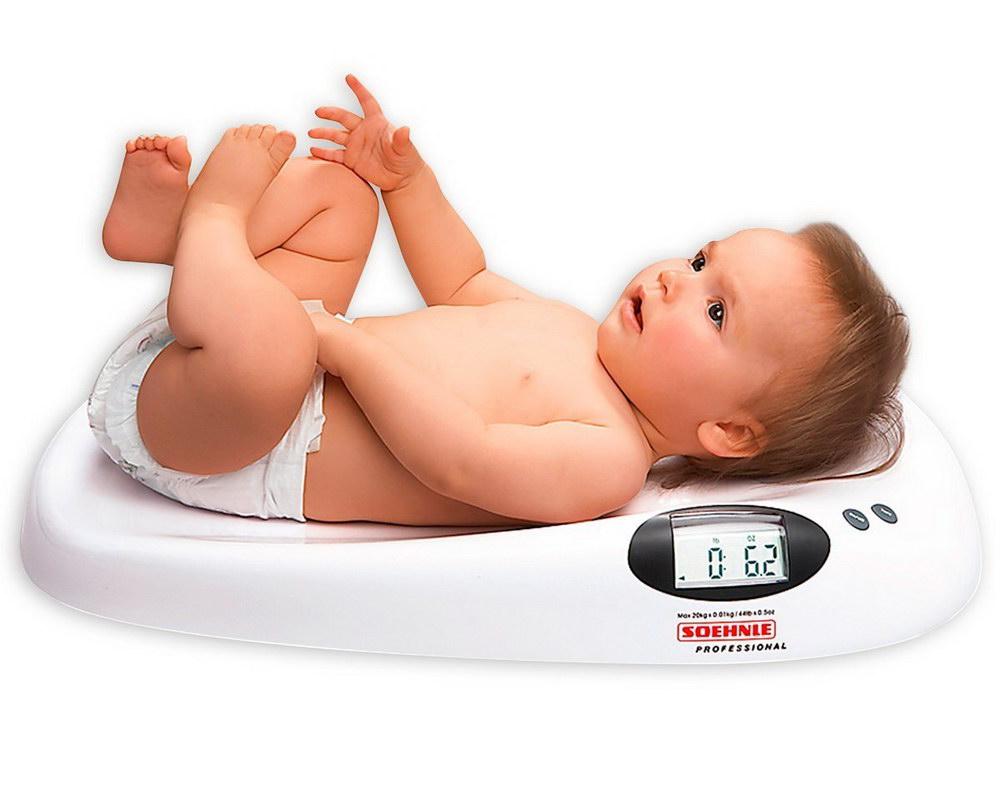 Maximale Belastbarkeit: 20 kg Todeco Babywaage Elektrische Babywaage Wei/ß Gr/ö/ße: 65,4 x 33,2 x 11,6 cm