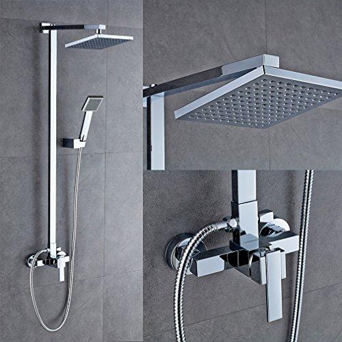 regendusche auralum design duschsystem brauseset rain duschstangetestsieger vergleich und test gnstig kaufen - Regendusche Grohe