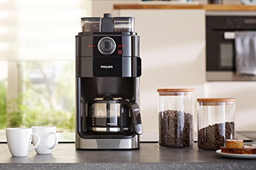 kaffeemaschine mit mahlwerk philips hd7766 00 filter kaffeemaschine im juli 2018. Black Bedroom Furniture Sets. Home Design Ideas