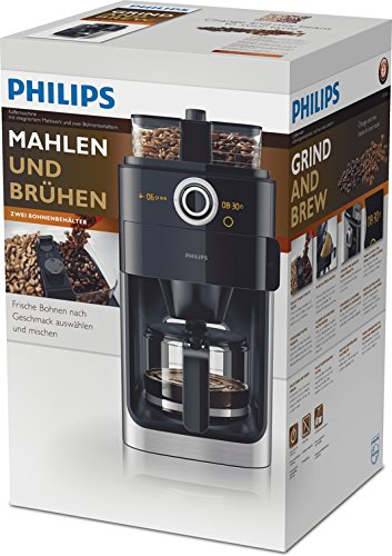kaffeemaschine mit mahlwerk philips hd776600 filter. Black Bedroom Furniture Sets. Home Design Ideas