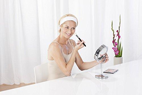 Kosmetikspiegel medisana vergr erungsspiegel mit led for Spiegel juli 2018