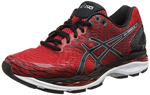 Asics Running Shoes Men Gel Nimbus 18, Men's Running Shoes, Red