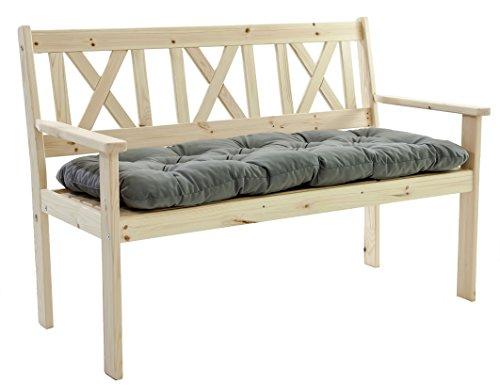 gartenbank ambientehome 2er bank massivholz holzbank inkl kissen evje natur im august 2018. Black Bedroom Furniture Sets. Home Design Ideas