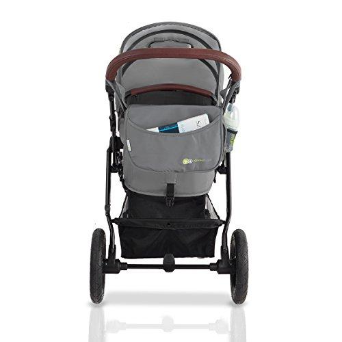 kinderwagen kinderkraft kombikinderwagen 3 in 1 mit buggy. Black Bedroom Furniture Sets. Home Design Ideas