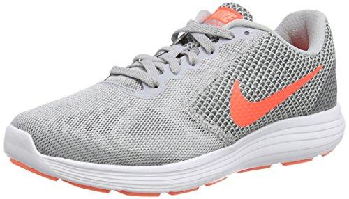 Nike Running Shoes Kvinner Nike Revolution 3, Dames Running Shoes, Grey