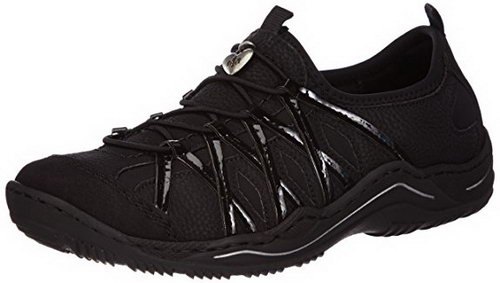 Rieker sneakers Rieker sneakers para mujer, negro en febrero