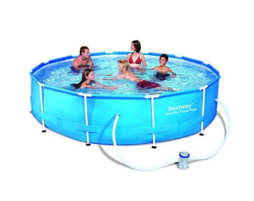 Swimmingpool bestway frame pool g nstig kaufen im juli 2018 - Bestway pool mit sandfilteranlage ...