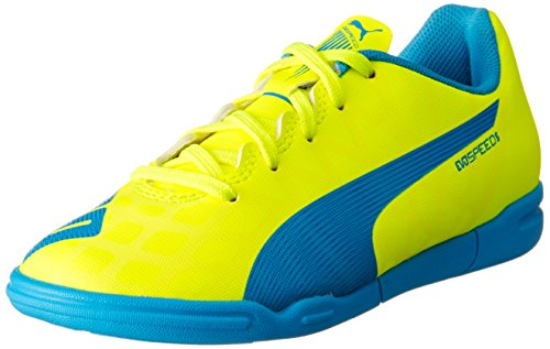PUMA Evospeed Indoor 5.4 Jr, Scarpe da Calcio Unisex