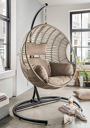 h ngeschaukel destiny coco deluxe ii polyrattan h ngekorb im oktober 2018. Black Bedroom Furniture Sets. Home Design Ideas