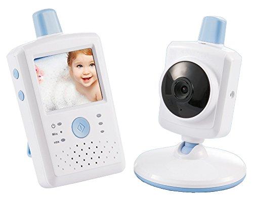 VOX-Modus,Gegensprechfunktion,Infrarot Nachtsicht,930mah Wiederaufladbarer Akku Video Baby Monitor mit 3,2 LCD-Bildschirm Victure Babyphone mit Kamera