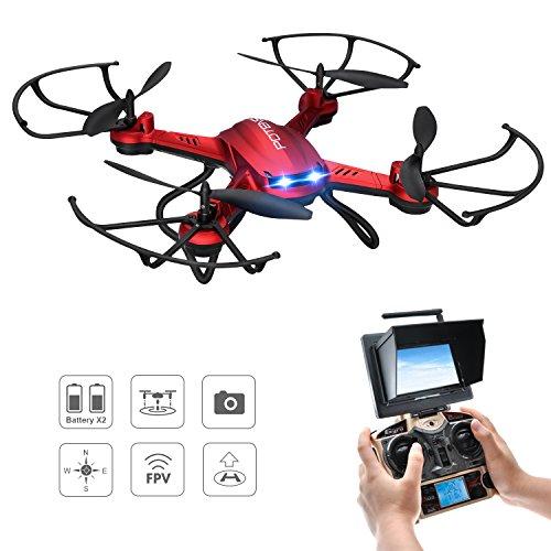 drohne mit kamera rc quadrocopter potensic drohne mit 5. Black Bedroom Furniture Sets. Home Design Ideas