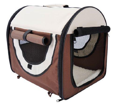 hundebox pawhut faltbare transportbox f r haustiere im. Black Bedroom Furniture Sets. Home Design Ideas