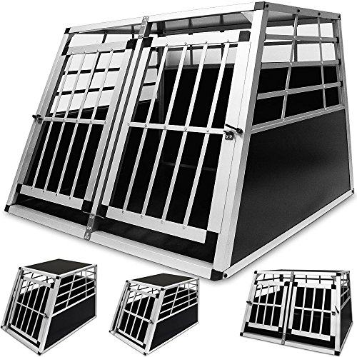 hundetransportbox aus leichtem alu mit verschlie barer t rtestsieger vergleich und test g nstig. Black Bedroom Furniture Sets. Home Design Ideas