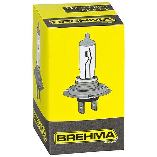 h7 birne 10x brehma h7 halogen lampe autolampe. Black Bedroom Furniture Sets. Home Design Ideas
